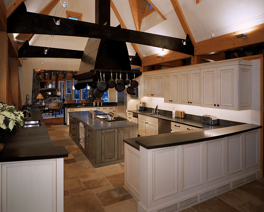Transition to Traditional Kitchen
