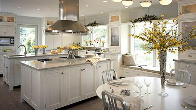 new kitchen white cabinets